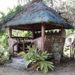 The resting nipa hut for those who want to relax and while the time
